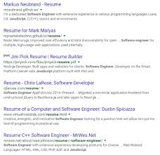 Sample Template For Resume How To Do A Successful Google Resume Search