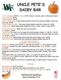 s farm market garden center pete s dairy bar