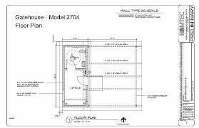 security guard house floor plan security guard house floor plan new gatehouse romtec inc luxury