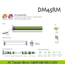 Awning Remote Control Best Quality Dm45 Rm 50n 120v Awning Remote Control With Manual