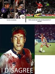 Soccer Hockey Meme - the true difference between hockey and soccer questioned funny