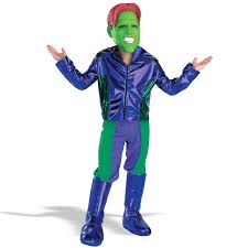 the mask costume of the mask deluxe child buycostumes