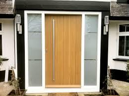 Modern Exterior Front Doors Contemporary Door With Vertical Boards Contemporary Doors