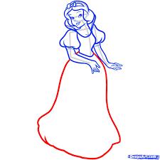 7 draw snow white