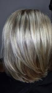 shades of high lights and low lights on layered shaggy medium length ash blonde highlights and ash brown lowlights google search hair