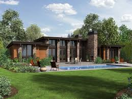 Small Contemporary House Plans Modern Contemporary Ranch House Plans House Design And Office