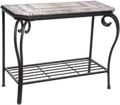 Iron Console Table Outdoor Console Tables On Sale Luxedecor