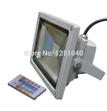 20w changeable color led floodlights ac85 265v outdoor spotlights