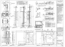 How To Draw A Sliding Door In A Floor Plan Wavell Huber Architectural Woodwork Services Shop Drawings
