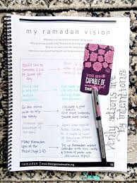 simply in control ramadan planner by the organized muslim