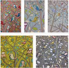 Colourful Upholstery Fabric Bird Fabric Ebay