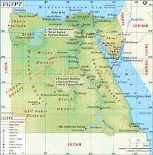 Physical Map Of Southwest Asia by Where Is Egypt Location Of Egypt