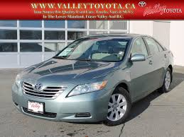 pre owned 2009 toyota camry hybrid 372 4dr car in chilliwack