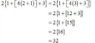 order of operations worksheets with exponents grouping symbols and order of operations