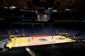 Oracle Arena Map Where Champions Play Warriors Win First Nba Championship In 40