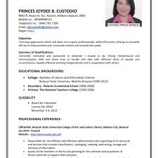 Example Resume Letter For Application Sample Resume Letters Job Application Sample Of Resume Letter For