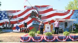 American Flag House 3rd Largest American Flag Mural In The Nation Dedicated To First