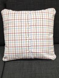 How To Make A Cushion With Zip Making Precious Memories How To Make A Cushion Using Ties