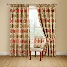 Terracotta Curtains Ready Made by Buy Montgomery Kyra Terracotta Lined Pencil Pleat Curtains 117cm