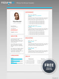 modern resumes templates the plateau modern resume template