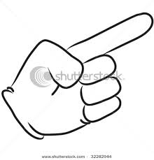 Pointing Meme - make meme with cartoon pointing finger clipart