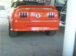 custom power wheels mustang custom mustang golf kart up for grabs stangtv