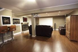 laminate flooring plans of basement mini home theatre room ideas
