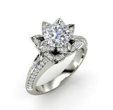 white gold engagement ring with yellow gold wedding band white gold diamond solitaire ring francis gaye jewellers rings