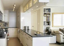 best layout for galley kitchen white stone tile floor transparent