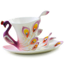 aliexpress com buy sale coffee mug peacock ceramic creative