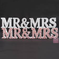 mr and mrs letters home furniture u0026 diy ebay