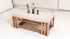 coffee table glamorous cement coffee table design ideas concrete