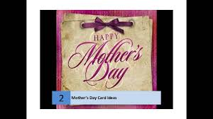 homemade mother u0027s day card ideas youtube