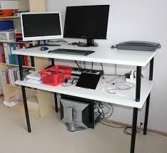 Ikea Diy Standing Desk by Stylish Ikea Hack Standing Desk Design U2014 Furniture Ideas