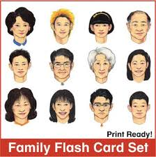 hair style esl esl flash cards family by donald s english classroom tpt