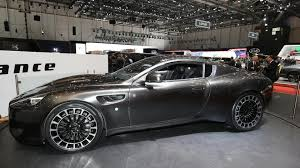 chrome aston martin kahn vengeance arrives in geneva as reskinned aston martin db9