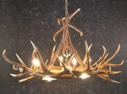 Faux Antler Chandelier Elk Six Antler Chandelier W 3 Down Lights Sale