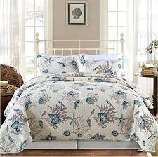 Seashell Duvet Cover Seashell Comforter Set Amazon Com