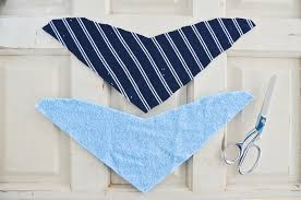 diy how to sew a bandana bib project nursery