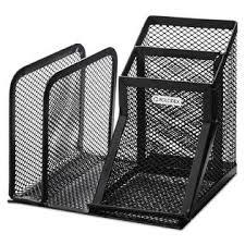 wire mesh desk organizer rolodex rol22171 wire mesh desk organizer with pencil storage 5 3 4