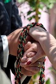 handfasting cords colors wedding ceremony trends handfasting
