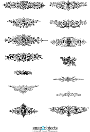 vector floral ornaments epin free graphic clipart icon sign