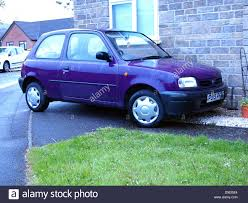 nissan purple small old purple nissan micra as used by a young driver may 2013