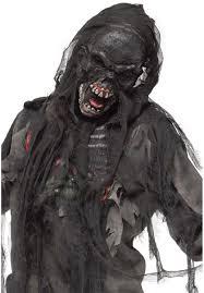 horror masks halloween burning dead zombie mask black zombies pinterest zombie
