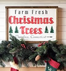 farm fresh trees small wood