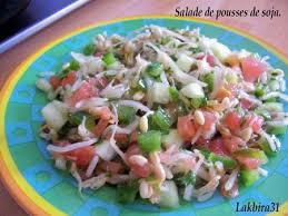 cuisiner les germes de soja salade de germes de soja toute la cuisine que j aime