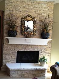 Lowes Fireplace Stone by Faux Stone Fireplace Lowes Home Fireplaces Firepits Best Faux