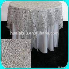 silver lace table overlay silver or gold and sequence chain lace table overlay lace