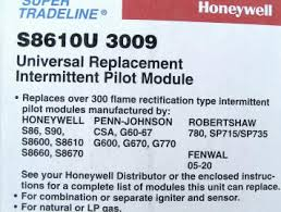 Furnace Ignition Parts S8610u3009 Honeywell Furnace Ignition Module