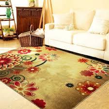 Boho Area Rugs Boho Area Rugs Retro Floral Memorecool Home Living Mats